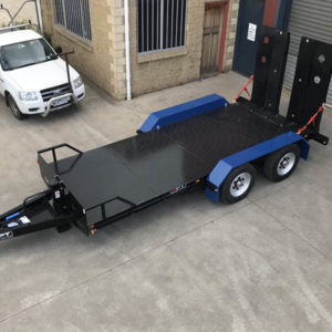 1. 9 Tonne Plant Trailer Tandem Axle Heavy Duty